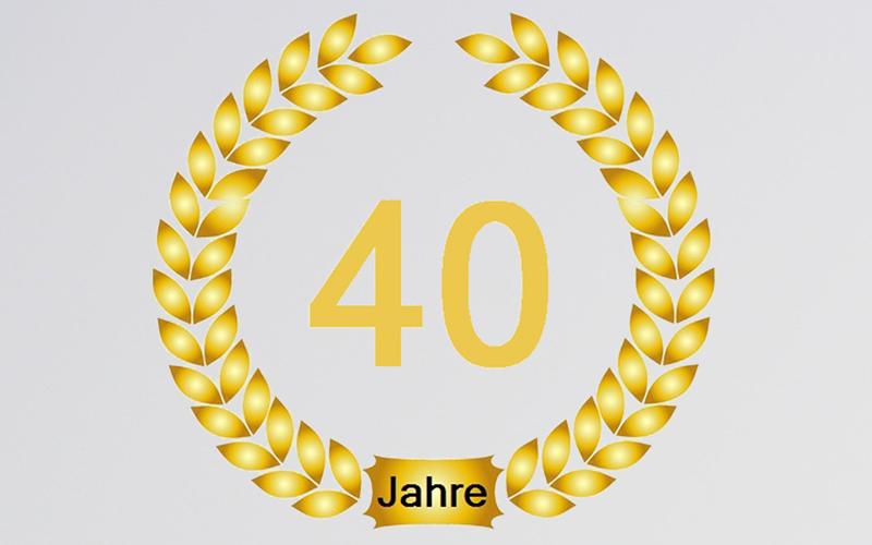 Herzlichen Glückwunsch An Herrn Rüdiger Breuer Zu Seinem 40